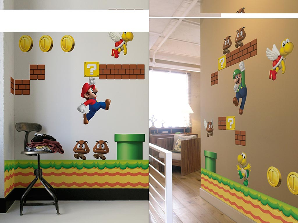 Image Source. Super Mario Themed Decor   The Harlequin Tea Set