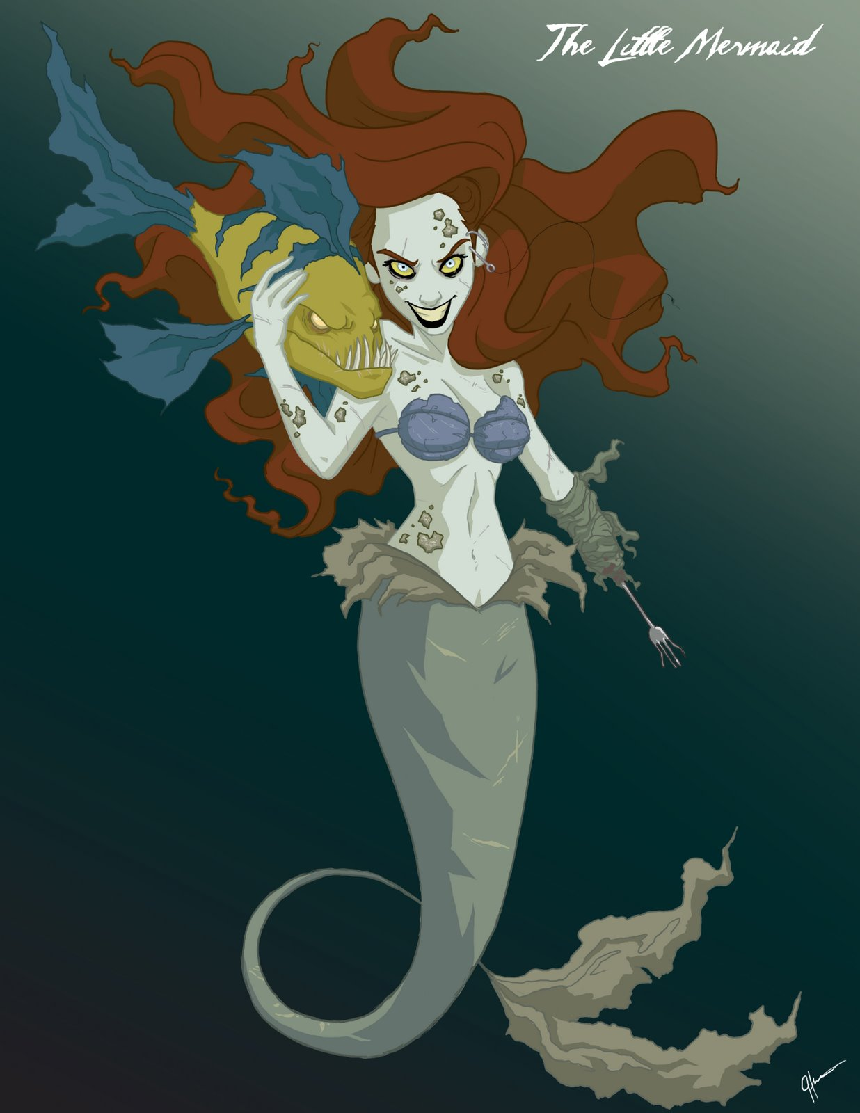 Twisted Disney Princess Ariel