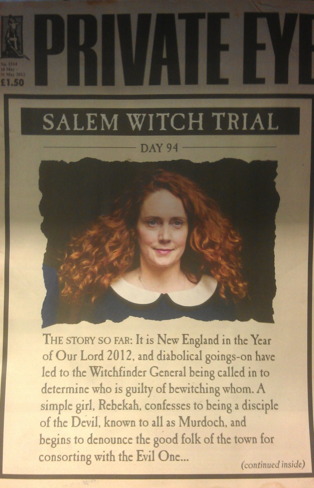 irony salem witch trials Introduction the salem witch trials of 1692 took place in salem, massachusetts overall, 141 people were arrested as 19 were hanged and one.