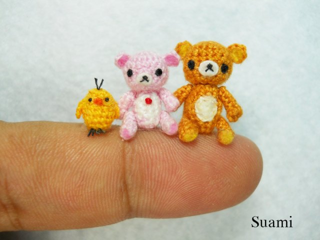 Knitting Patterns For Miniature Animals : We Love Miniatures