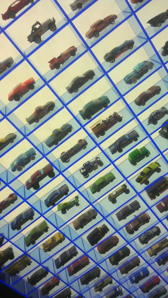 My favourite collection of cars, the mini ones!