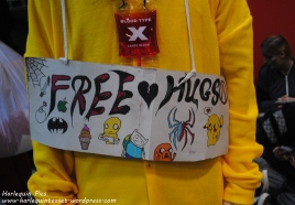 For some reason, there were free hugs everywhere :/