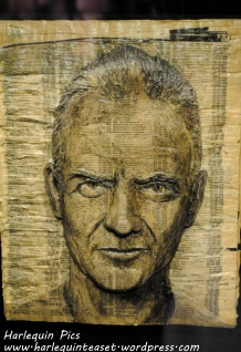 Sting made from phonebooks.