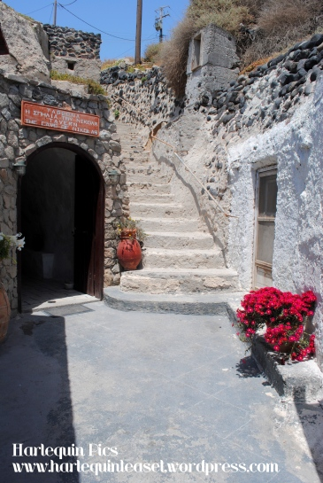 Entrance to the 'Cave'