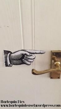 In case nobody knew how to open the door