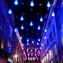 Lightbulbs at Carnaby Street