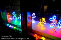 Neon Dogs by Deepa Mann-Kler